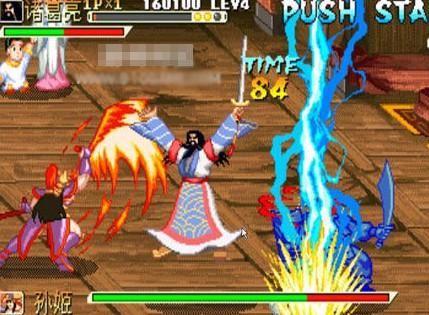 IGS打造的《三国战纪》等游戏在当年倒是红火一时