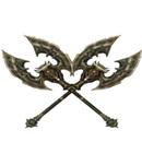 双斧丨双翼斧