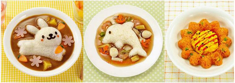 动物造型饭团模具