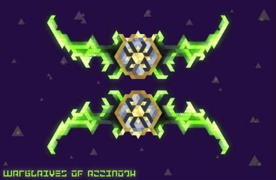 魔兽世界像素化风武器图标