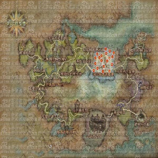 分布地图1
