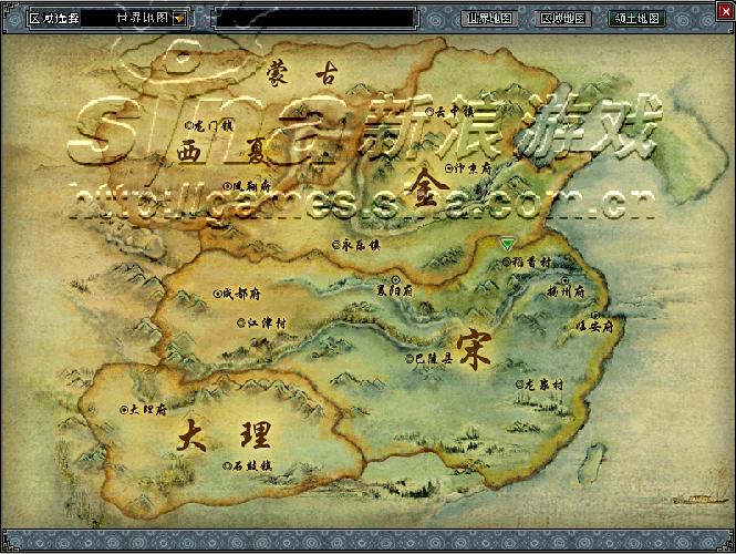 碧之轨迹小地图