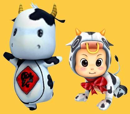 2牛宝宝  宠物名称 图片 说明及作用 2009年是牛年哦,可爱的牛牛当然