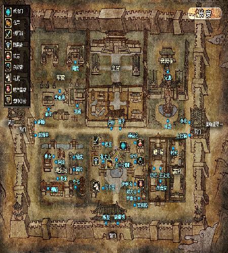 长安_大唐_大唐_城镇地图
