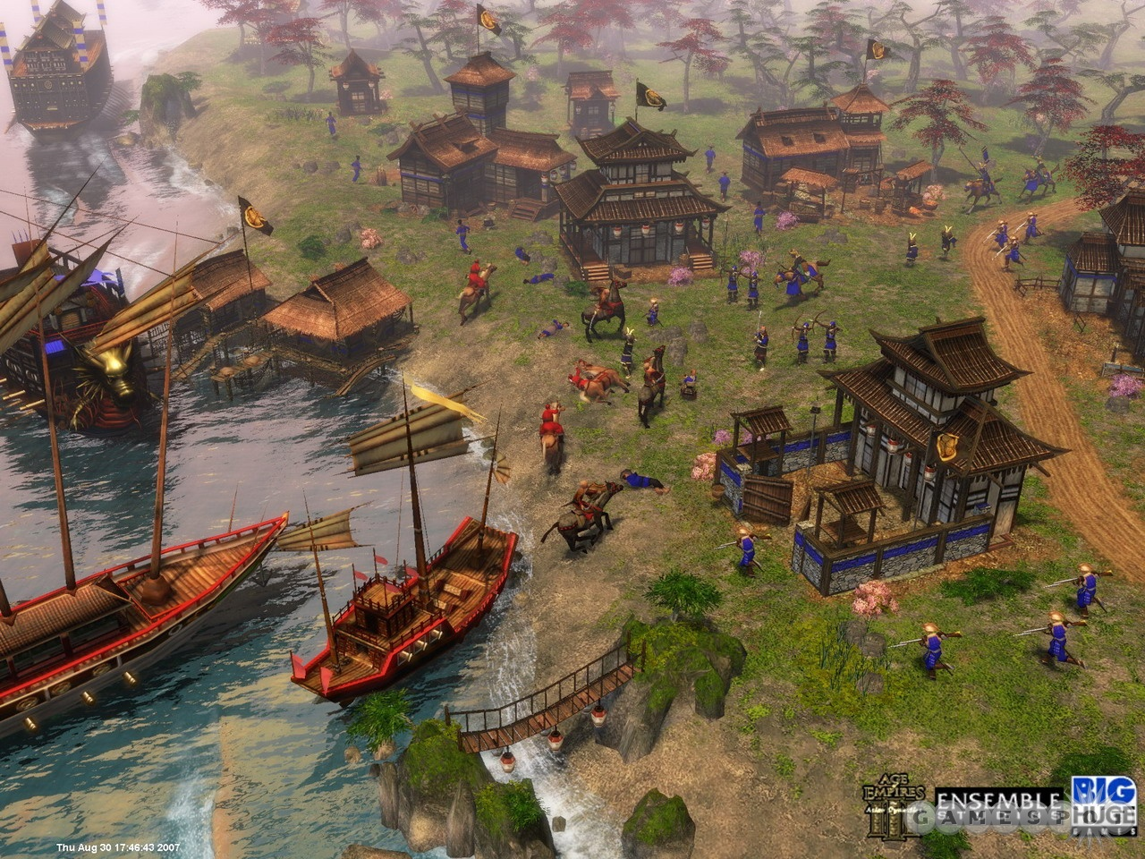 《帝国时代3:亚洲王朝》游戏画面(3)图片