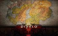 《暗黑3》壁纸:世界地图