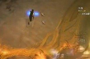 蓝装猎魔人只用2个技能推倒大菠萝