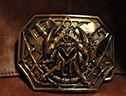 奥格瑞玛出品:野蛮人青铜皮带扣!