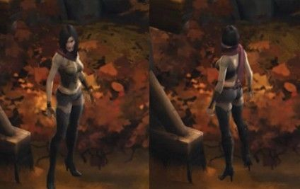 暗黑3猎魔人套装染色效果预览