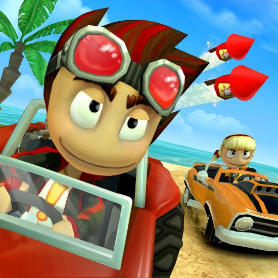 沙滩车竞速