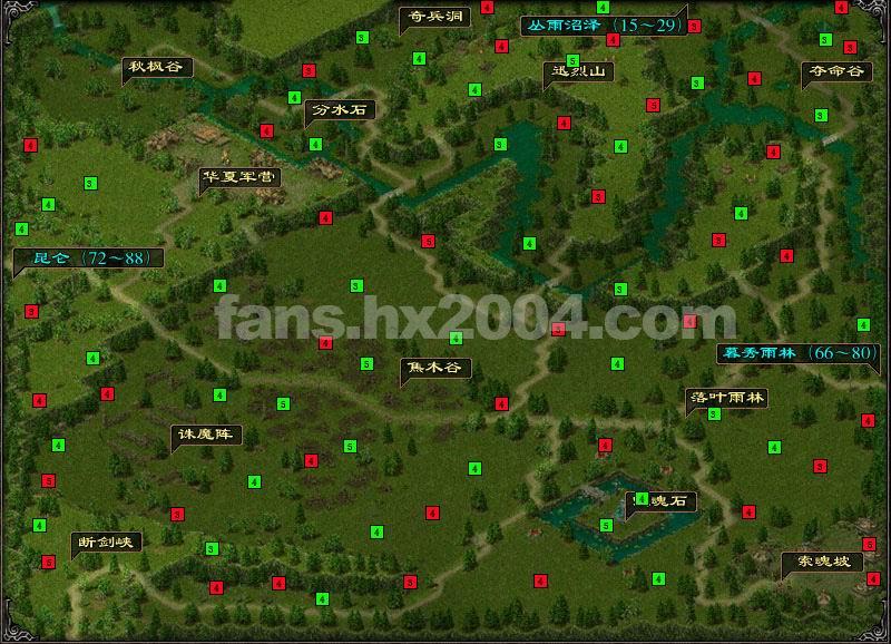 华夏2游戏地图素材