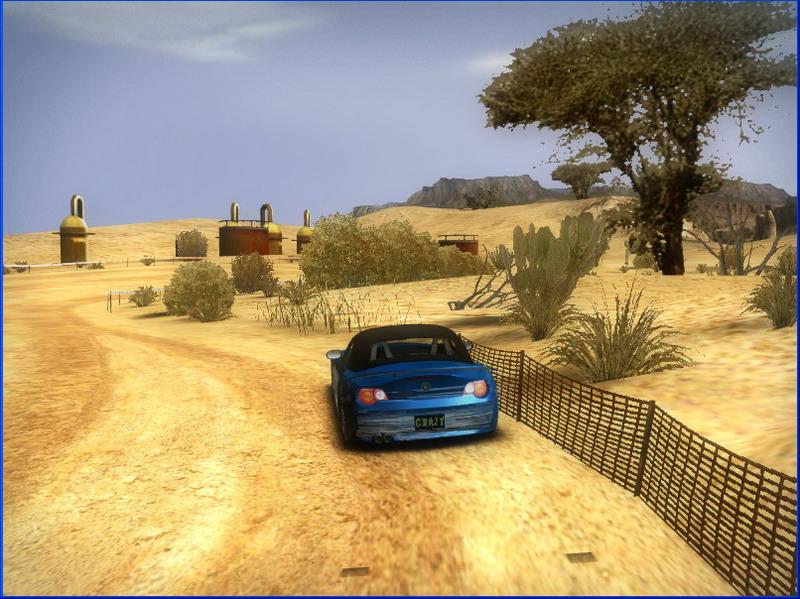 《疯狂飚车》游戏截图