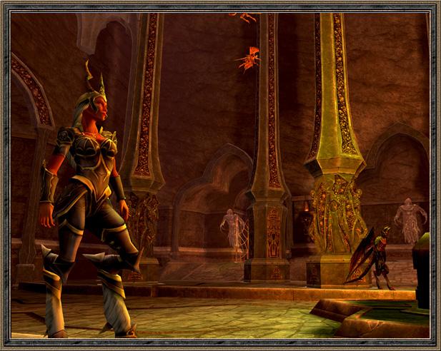 《卡米洛的黑暗时代》游戏截图