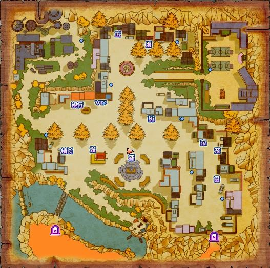 游戏地图_主要城镇介绍