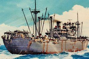 """日军二战""""地狱航船"""""""