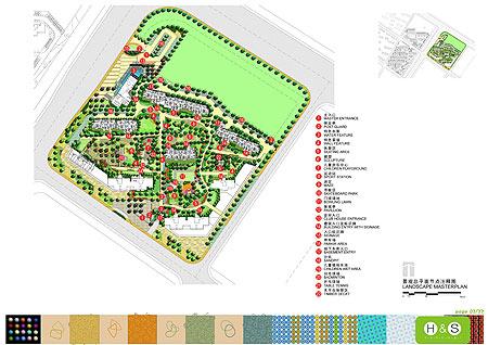 """在融侨•中央花园项目一期""""苹果街区""""的景观设计上,通过对"""