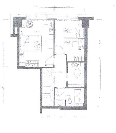 图为宾仕国际b户型61.55平方米loft夹层