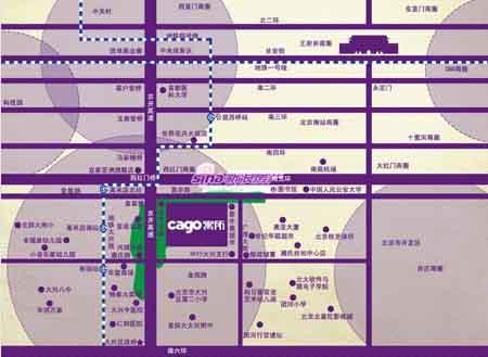 图为 CAGO寓所位置图