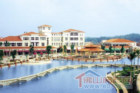 祈福南湾半岛6万平方米地中海商业广场