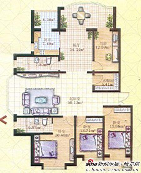 a栋在售户型使用面积在116-179平米,建筑面积在161-248平米不等.