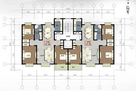 一直为没有买140户型120平米的房子而买了120户型95平米的房子而耿耿