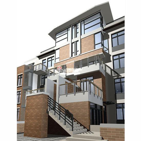 清新二层楼房设计图