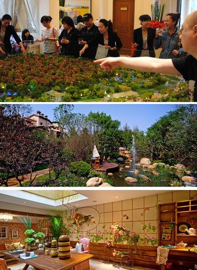 彼时,和院别墅仅仅是一个构想;   2010年年初,中国传统四合院与欧式宫