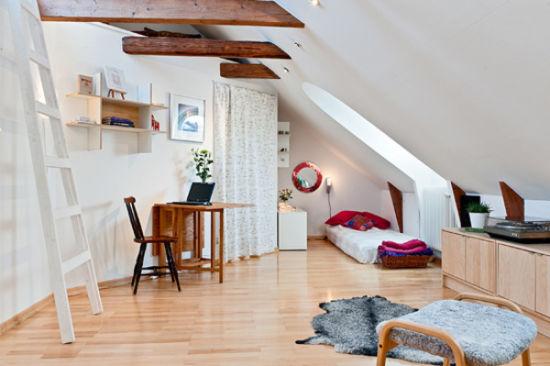 北欧风格卧室家居设计 装修异域的简洁之美