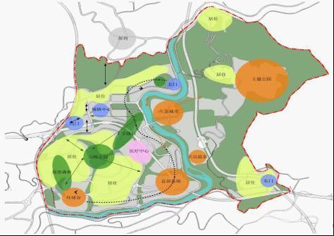 龙洞堡 规划图