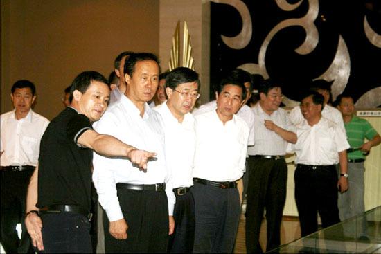 河北省副省长宋恩华莅临天一城视察调研工作