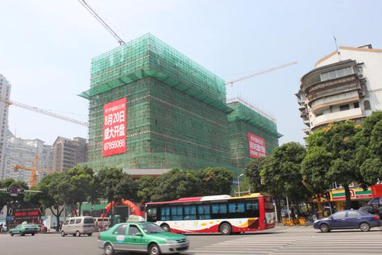 恒宇国际公馆最新工程进度