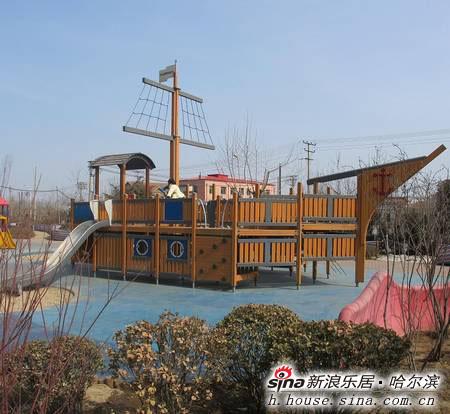 """首家引进大型儿童益智趣味娱乐活动设施""""海盗船"""",成为哈尔滨国际品质"""