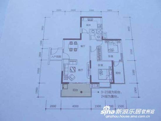 在繁华里巩筑爱巢 河东新区部分两房户型推荐