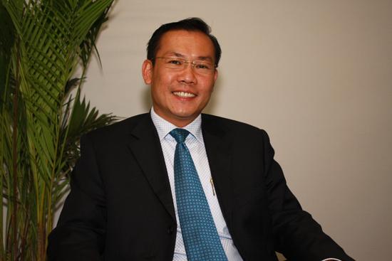 天津生态城阿亚拉置地开发有限公司总经理潘文彪