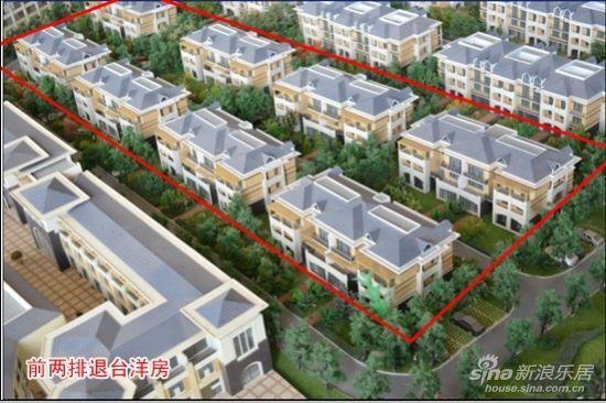 退台洋房-天润浅水湾住宅区规划