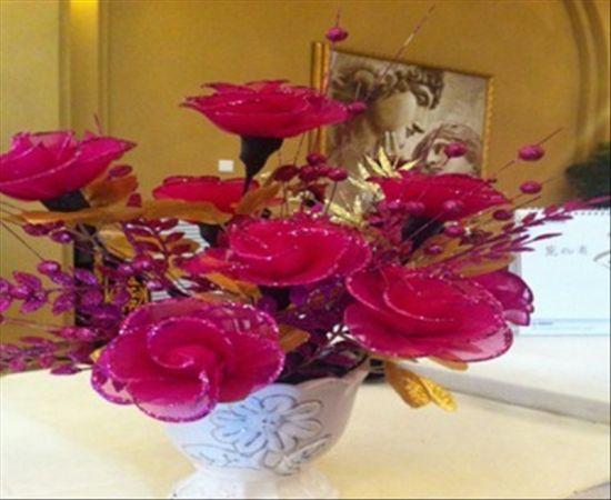 现场制作的绢花-香邑溪谷 芳香之旅开启您的高端生活观图片