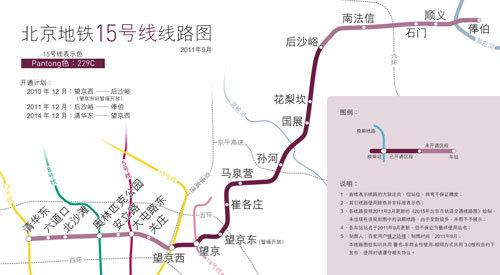地铁昌平线线路图图片大全 北京地铁昌平线线路图,要全程图片