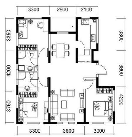 户型 户型图 平面图 450_469