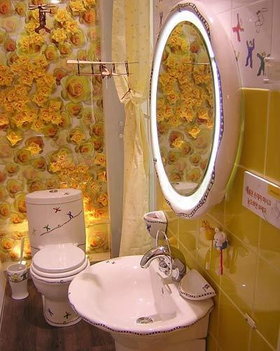 视频装修新万树四款创意浴室的浴室繁花(图撩情趣内衣人情趣图片