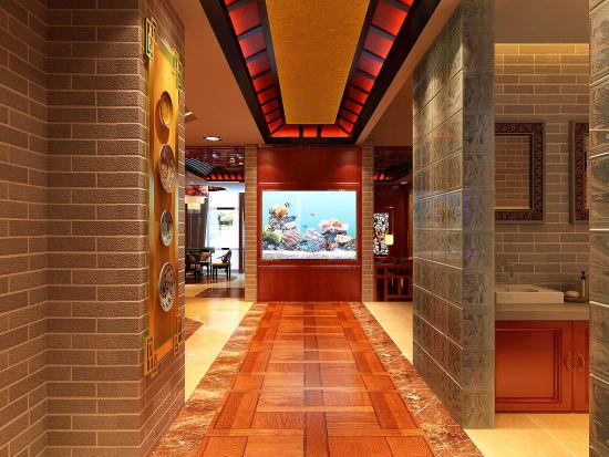 酒店门厅设计效果图