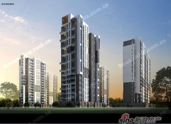 项目分二期开发,一期工程为7栋18层高层住宅,二期为33层高层住宅.