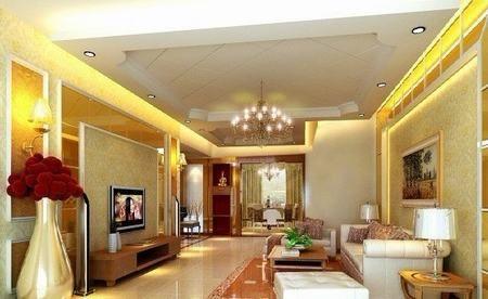 客厅电视墙壁纸装修效果图大全2012图片, 背景墙壁纸diy设计装修.