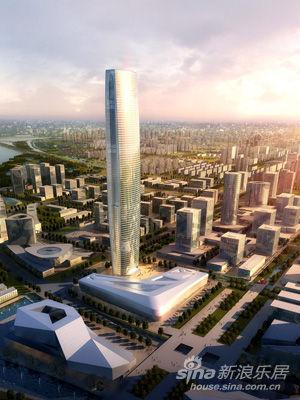 苏州绿地中心超高层城市地标正式开工