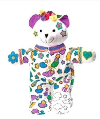 熊仔手绘图-团泊湖光耀城软陶DIY熊仔手绘活动