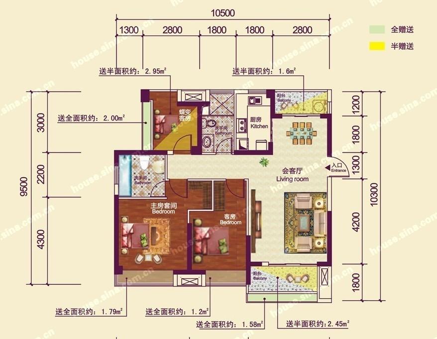 户型图样板间地图搜索)    折扣信息:宜化山语城二期83-138o景观高层