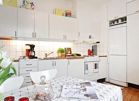 1房1厅1厨1卫的住宅 51平清新宜人女性公寓