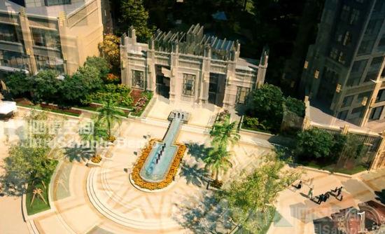 现代ART-DECO建筑风格-盛合 公园壹号法式公园慢生活巡礼之三 3图片