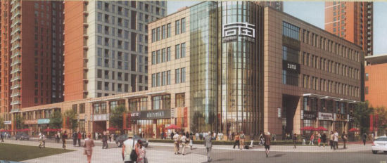 邯郸开建首条欧式风情商业街 - 市场 -邯郸乐居网
