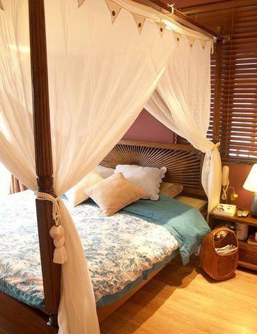 睡美人的床,整体感觉都让人觉得温馨无比