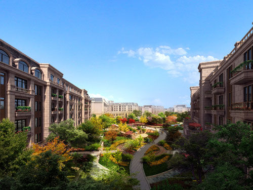 掌理着长春v别墅的蓬勃脉动,是这座别墅的龙首要地.城市哪个句容图片